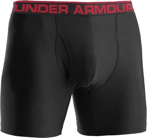 Under Armour Men's The Original 6'' Boxerjock Boxer Briefs black