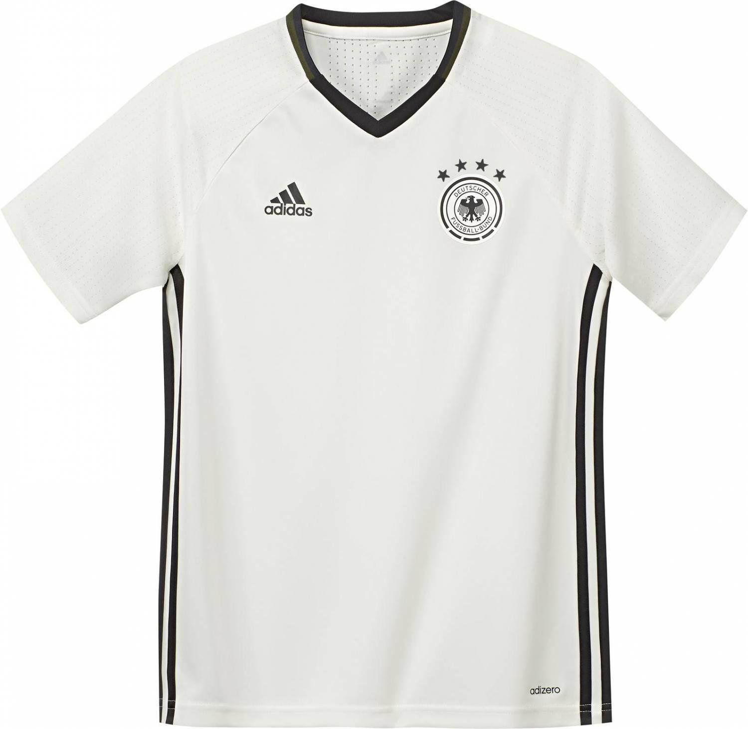 ADIDAS DFB FUSSBALL Nationalmannschaft Kinder Trainingstrikot T Shirt Gr. 140