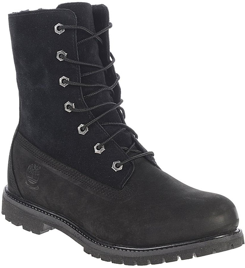TIMBERLAND WOMENS AUTHENTICS Waterproof Fold Down Teddy