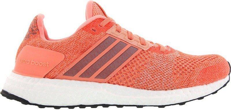 Adidas Ultra Boost ST Women sun glowsuper orangecore black