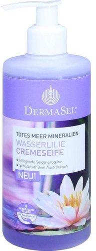 DermaSel Totes Meer Wasserlilie Cremeseife (300ml)