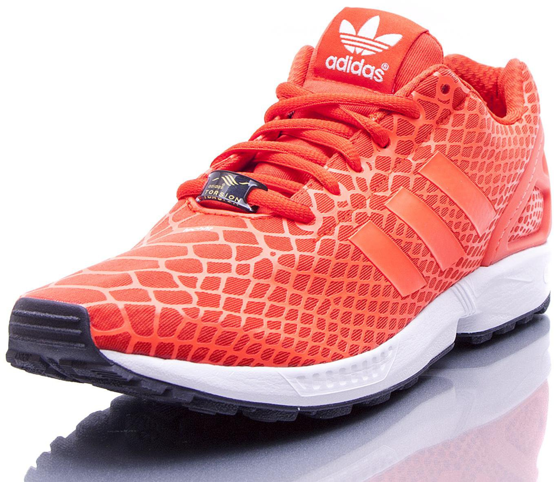 Adidas ZX Flux Techfit Orange Herren Laufschuhe Gr. 40