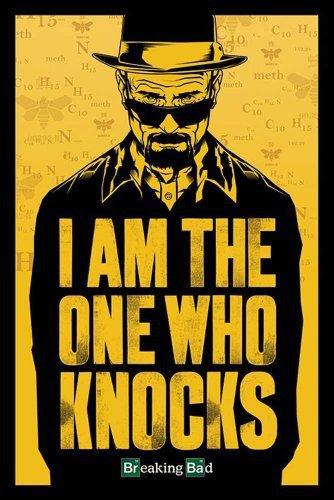 Poster 42x24 cm Breaking Bad Walter White Jesse Pinkman Serie Poster 01