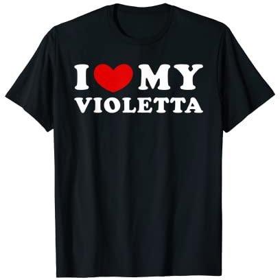 Violetta T-Shirt kurzarm Shirt 116 122 128 134 140 152 Mädchen Disney Leon