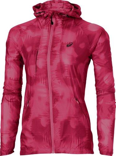 Asics FuzeX Komprimierbare Jacke Damen rot