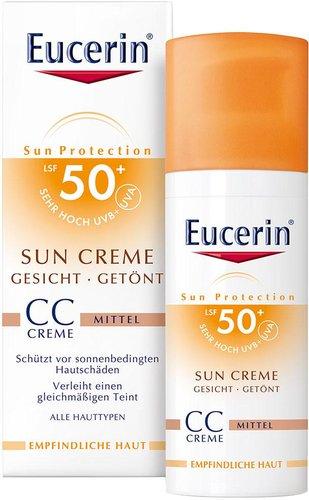 Eucerin Sun CC getönte Sonnencreme LSF 50+ (50ml)
