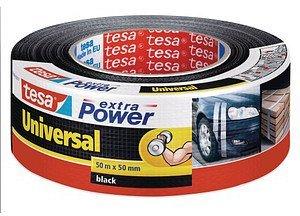 Berühmt Tesa extra Power Universal Gewebeband 50m x 50mm schwarz günstig BS38