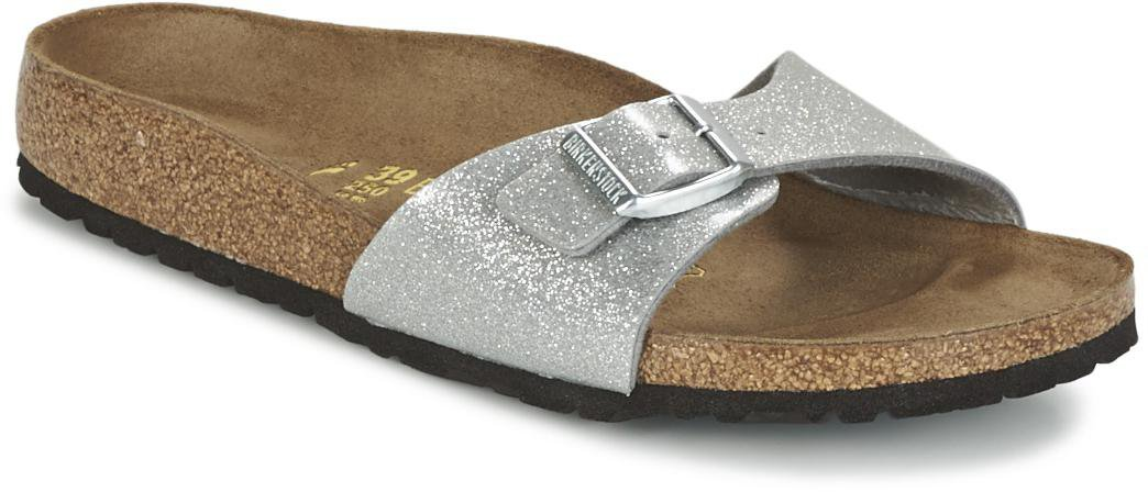 Birkenstock Madrid Birko Flor magic galaxy silver