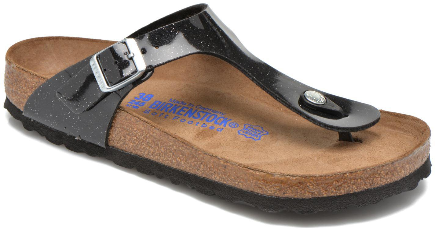 buy popular 25e59 a3d46 Birkenstock Gizeh Birko-Flor magic galaxy black