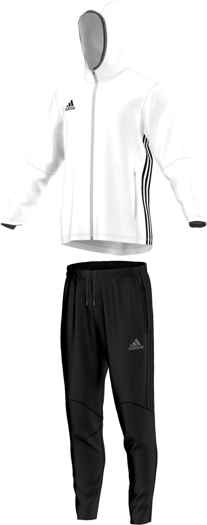 super cute super specials good quality Adidas Condivo 16 Präsentationsanzug weiß/schwarz