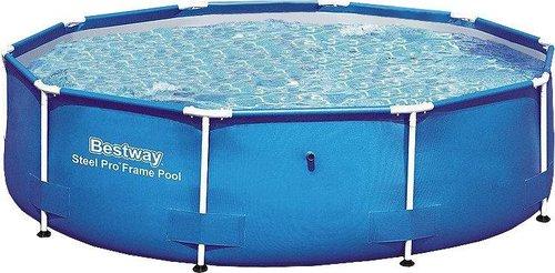 Bestway Steel Frame Pool 305 x 76 cm ohne Filterpumpe