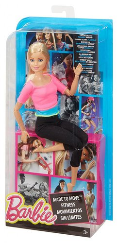 Mattel Barbie Made To Move