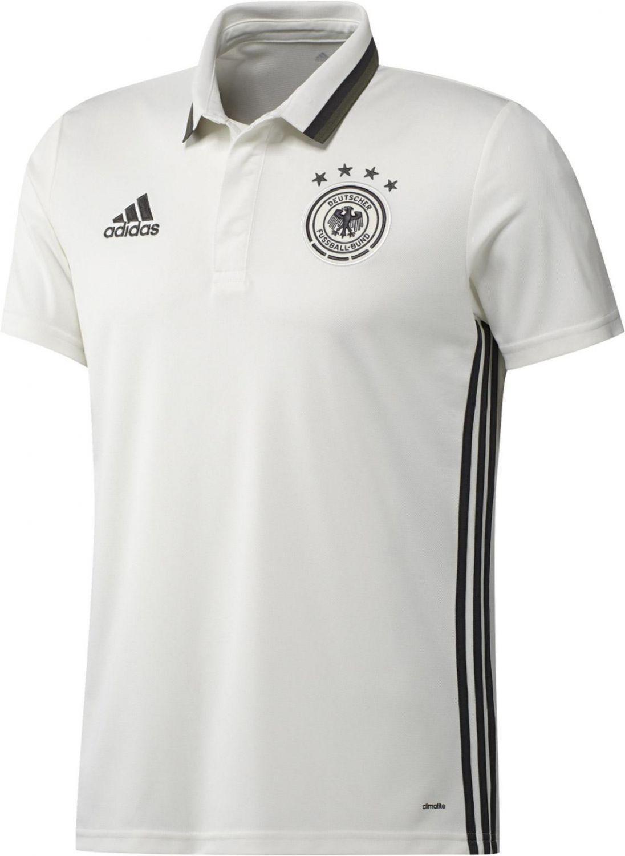 adidas Herren UEFA Euro 2016 DFB Anthem Poloshirt Polo, Grau