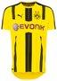 Puma Borussia Dortmund Heimtrikot 2016/17 Fanartikel deutsche Vereine Vergleich