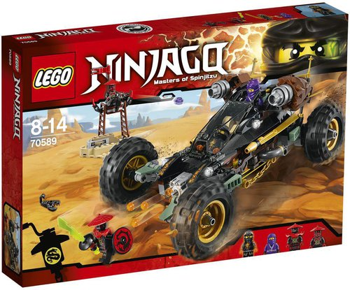 LEGO Ninjago Felsen-Buggy (70589)