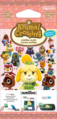 Nintendo amiibo: Animal Crossing - Karten - Serie 4