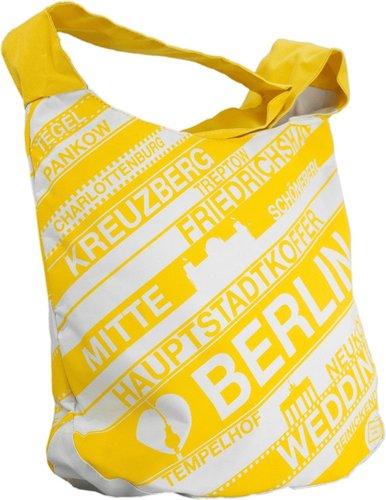 Hauptstadtkoffer Berlintasche gelb 36 cm