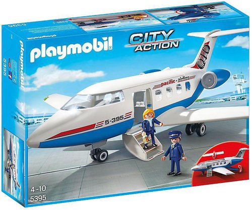 Playmobil City Action Passagierflugzeug (5395)