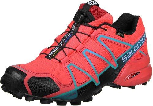 Kaufen klassisch 60% Rabatt Salomon Speedcross 4 GTX Women coral punch/black/blue jay