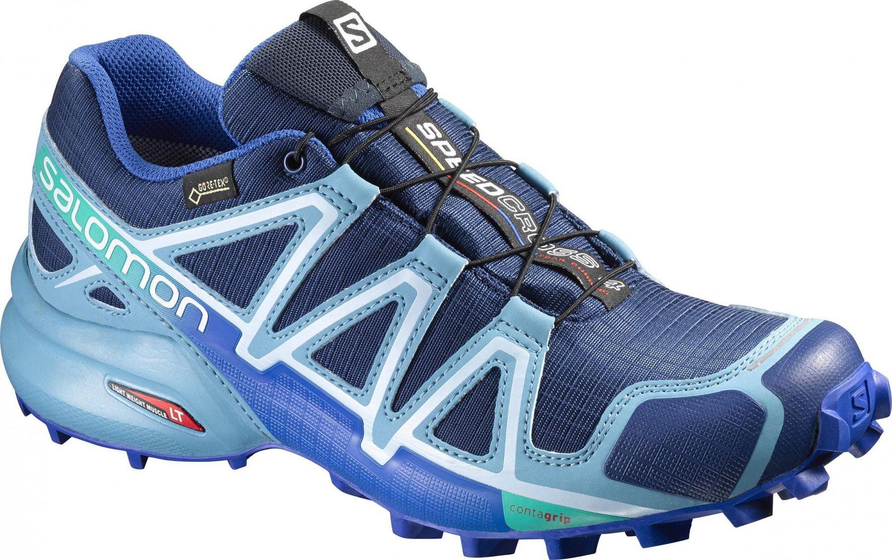 Salomon Speedcross 4 GTX Women blue depthblue gumblue yonder