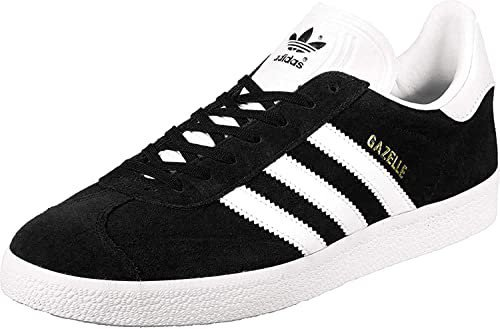 Adidas Gazelle core blackwhitegold metallic