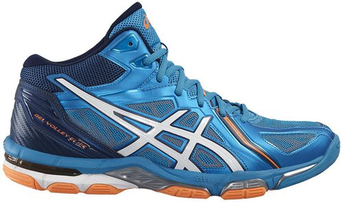 Asics Gel Volley Elite 3 MT blue jewelwhitehot orange