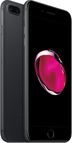apple iphone 7 plus 256gb schwarz ohne vertrag g nstig kaufen. Black Bedroom Furniture Sets. Home Design Ideas