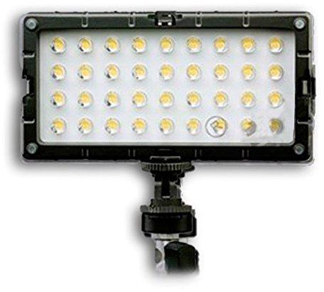 Bresser S-8 Foto/Video-Beleuchtung LED + 2 Akkus