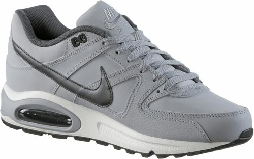 nike air max command leather Turnschuhe schwarz weiß