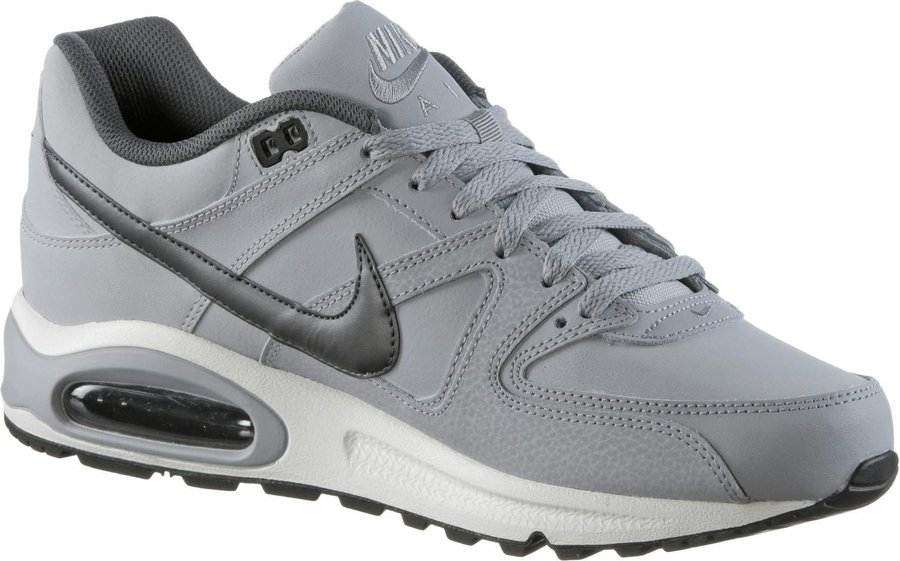 Nike Air Max Command Leather wolf greymetallic dark greyblackwhite