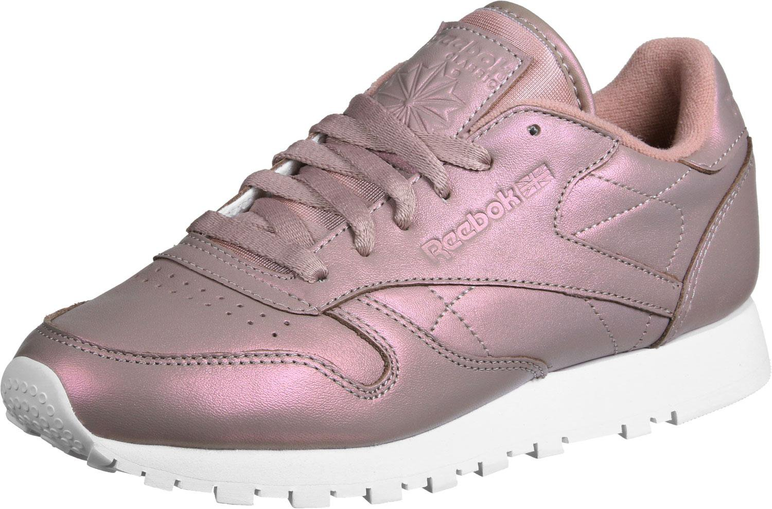 Leather Classic Reebok Goldwhite Pearlized Rose lcK1JF