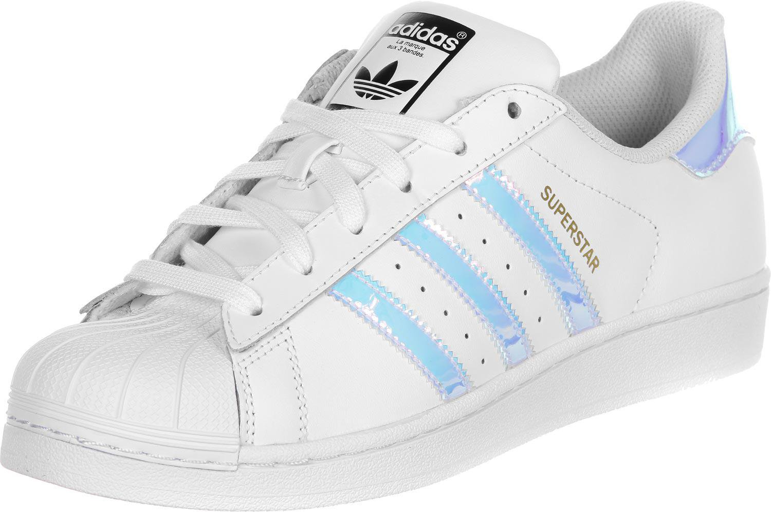 Adidas Superstar Junior ftwr white/ftwr white/metallic silver
