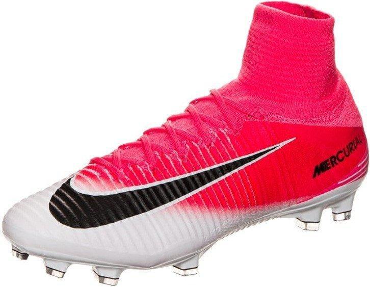 Nike Mercurial Superfly V FG Fußballschuh laser orange weiß