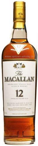 Macallan 12 Jahre Sherry Oak 40%