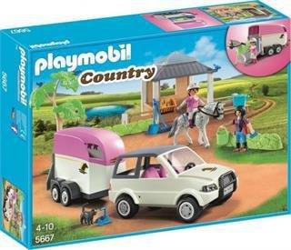 Playmobil Country Reitstall mit Pferdetransporter (5667)