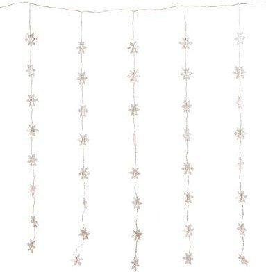 FHS-International Lichtervorhang Schneeflocke