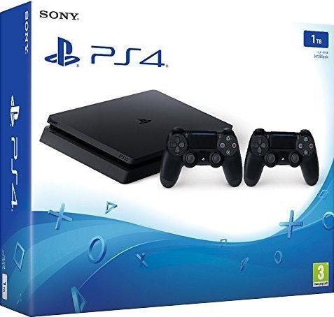 Sony PlayStation 4 (PS4) Slim 1TB + 2 Controller