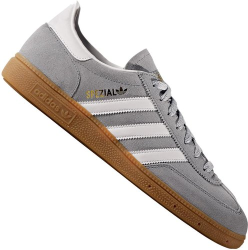 lower price with huge discount top quality Adidas Spezial light grey/white/gold metallic