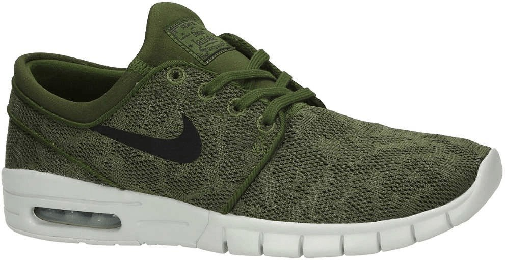 50% price new authentic exquisite style Nike Sb Stefan Janoski Max legion green/black/pure platinum