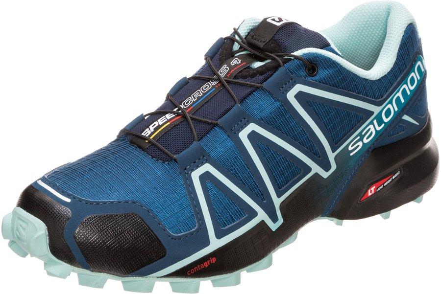 Salomon Herren Speedcross 4 Traillaufschuhe, Blau (Bluestone), 41 13 EU