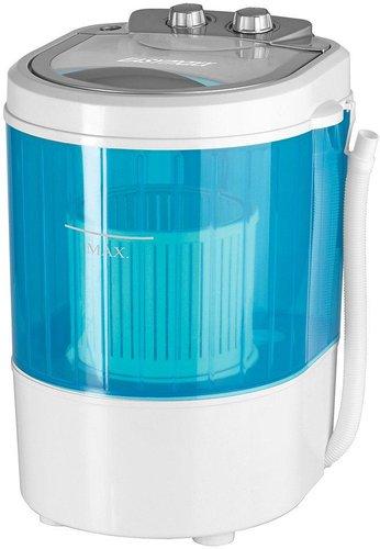EASYmaxx Mini-Waschmaschine 260 W weiß/blau
