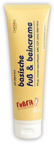CareMed FußFit basische Fuß & Beincreme (50ml)