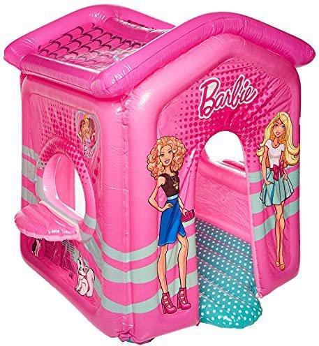 Bestway Aufblasbares Spielhaus Barbie Malibu