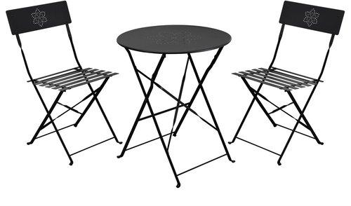 Metall Gartenmöbel Set