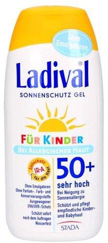 Ladival Allergische Haut Sonnenschutz Gel für Kinder LSF 50+ (200ml)