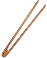 Grillzange 32 cm aus Buchenholz Gurkenzange Zetzsche Krautzange Wurst Zange Holz