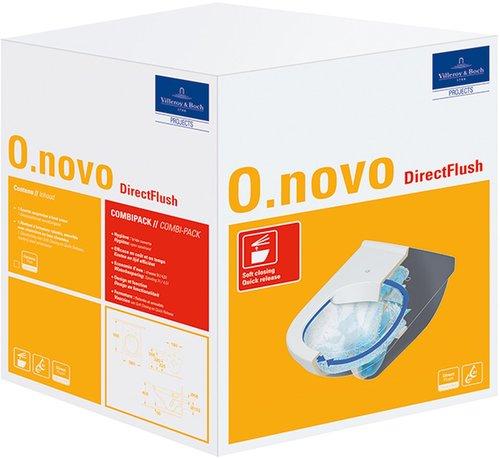 Villeroy & Boch O.Novo Combi-Pack (5660HRR1)