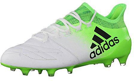 Adidas X 16.1 FG Leather whitecore blacksolar green