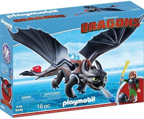 Playmobil Dragons Hicks und Ohnezahn (9246)