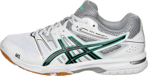 Asics Gel-Rocket 7 Women white/black/cockatoo